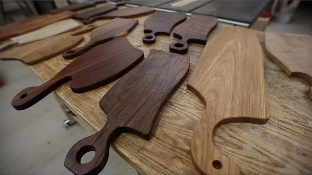 Simple cutting boards