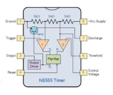 Simple scheme on NE555