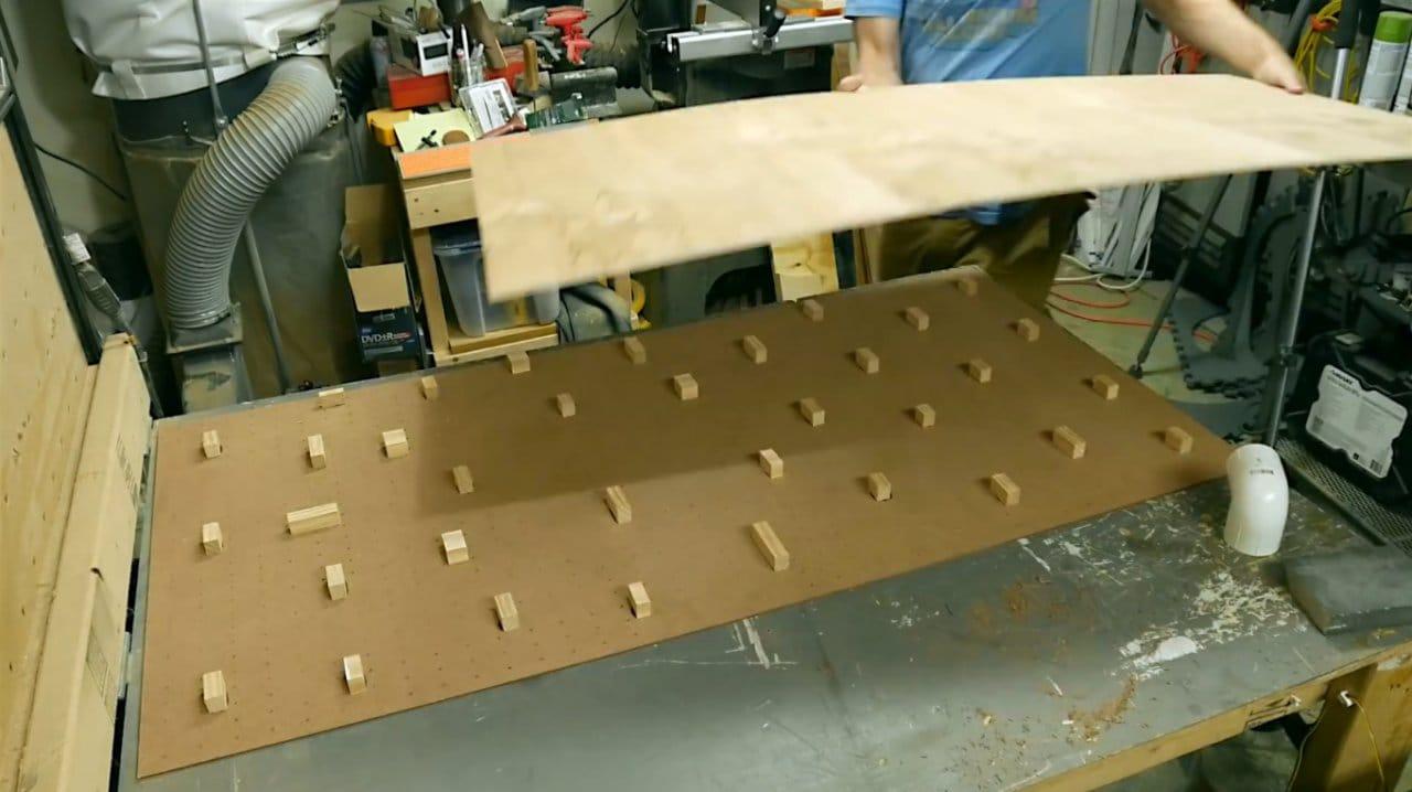 DIY air hockey board game