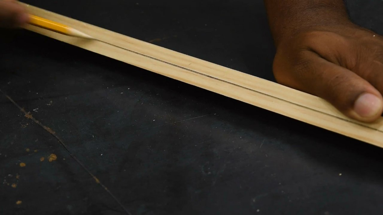 How to make the simplest marking gauge