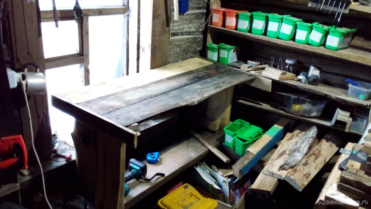 Not enough workbench with your own hands