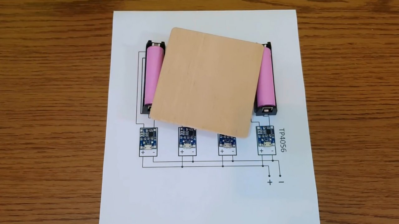 How to make a simple charger for Li-ion batteries 18650
