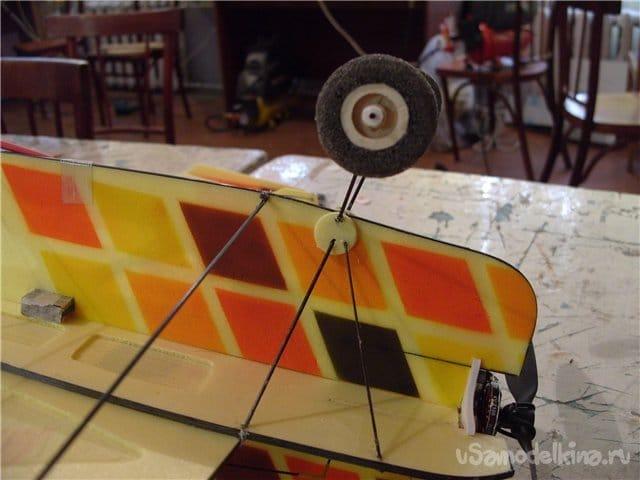 Wheels for aircraft from a tourist mat
