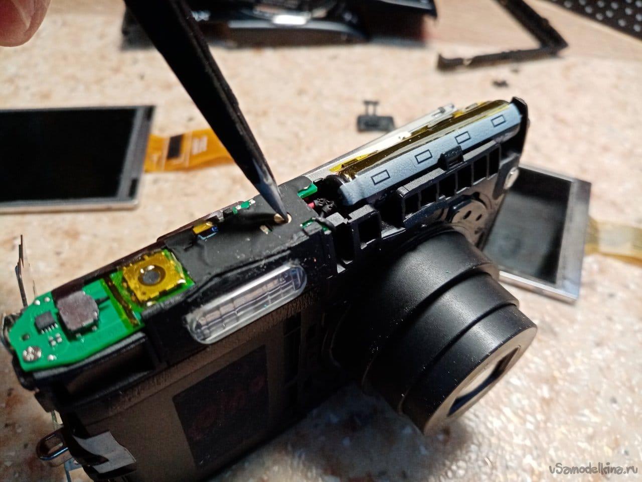 Display replacement. Nikon Coolpix 3500