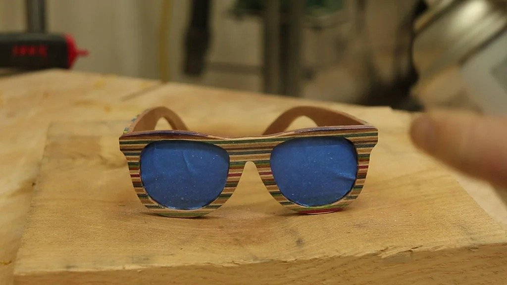 Veneer sunglasses