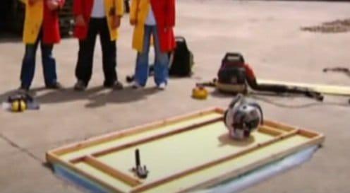 Plywood hovercraft