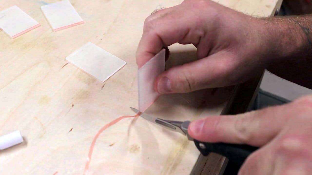 How to make an 'infinite mirror' lamp