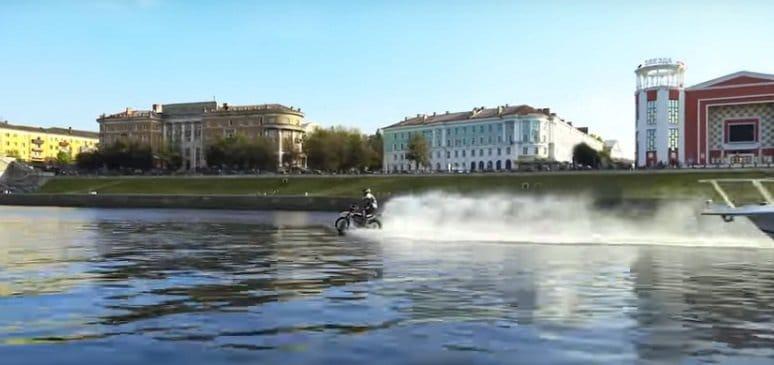 Водный мотоцикл своими руками