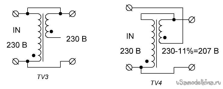 Stabilizer for 230 volts