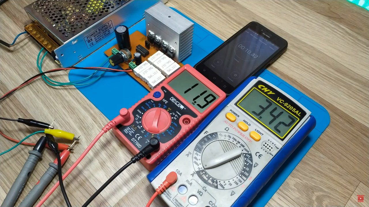 Adjustable power supply unit for LM723 with your own hands