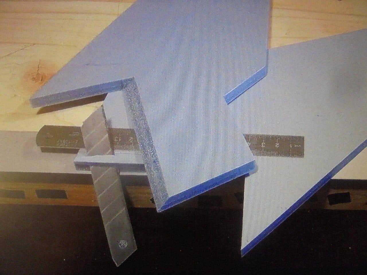 Seaplane STRIZH - Seaplane STRIZH from underlay for laminate