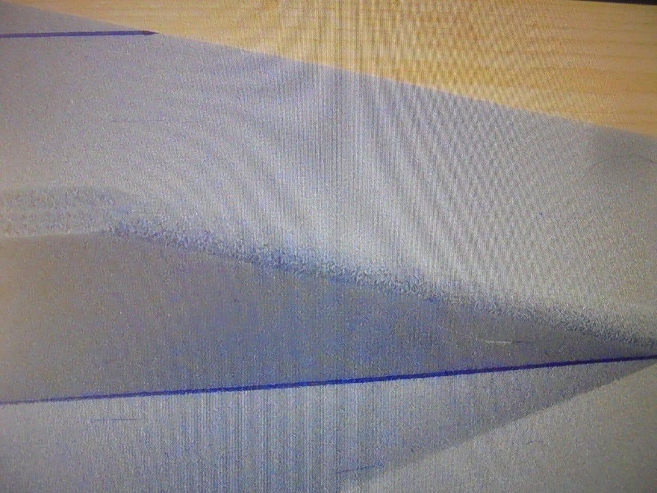 Seaplane STRIZH - Seaplane STRIZH from underlay under laminate