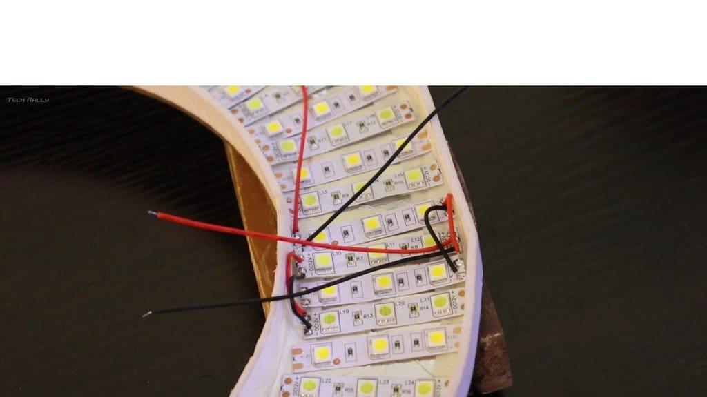 LED annular lamp for studio shooting