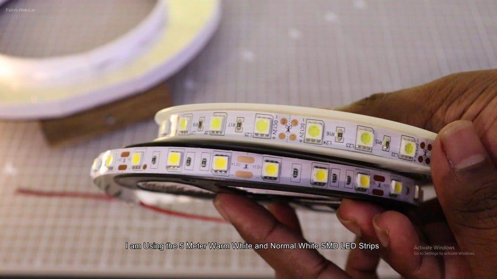 LED ring light for studio shooting