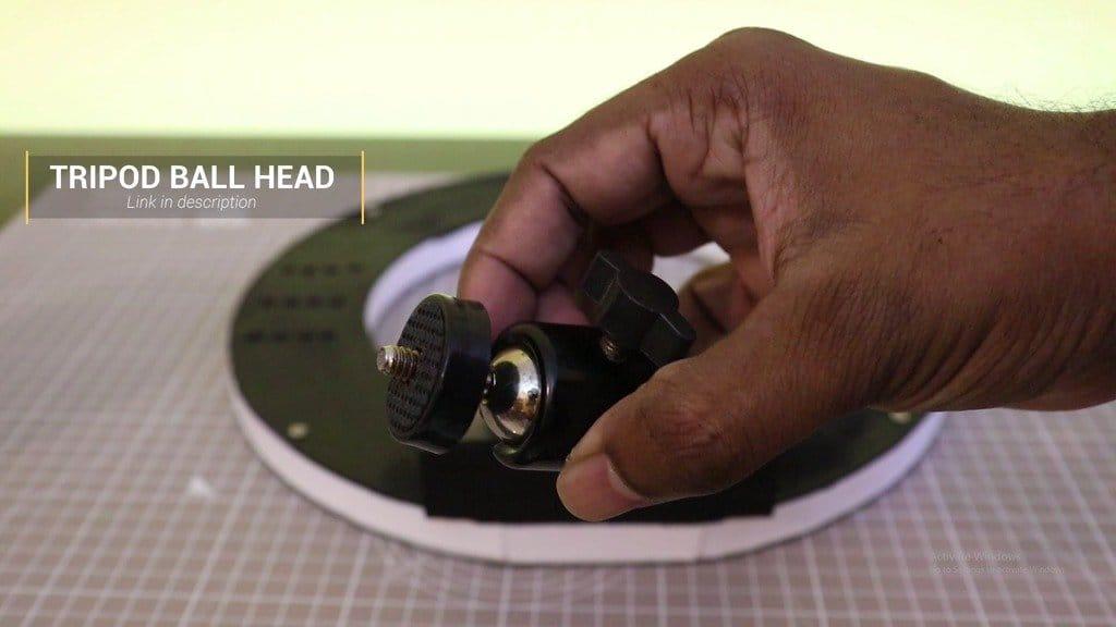 LED annular light for studio shooting