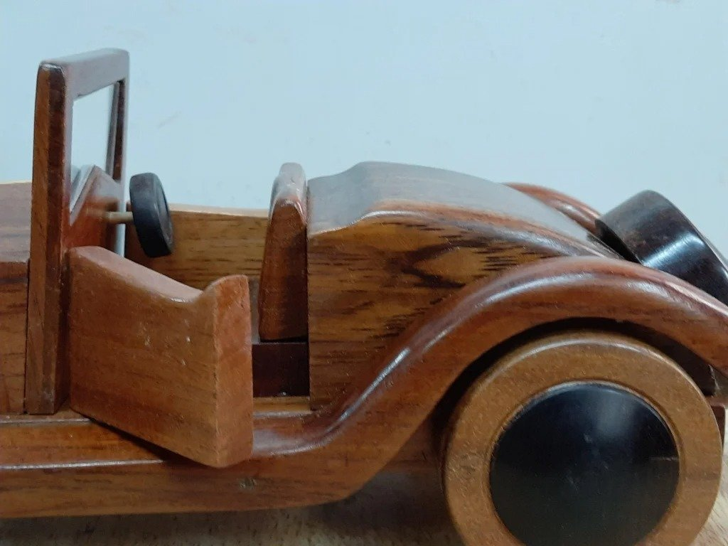 How to make a wooden Alfa Romeo model 1928