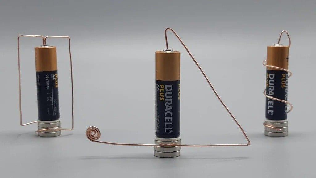 A simple unipolar motor as a teaching aid