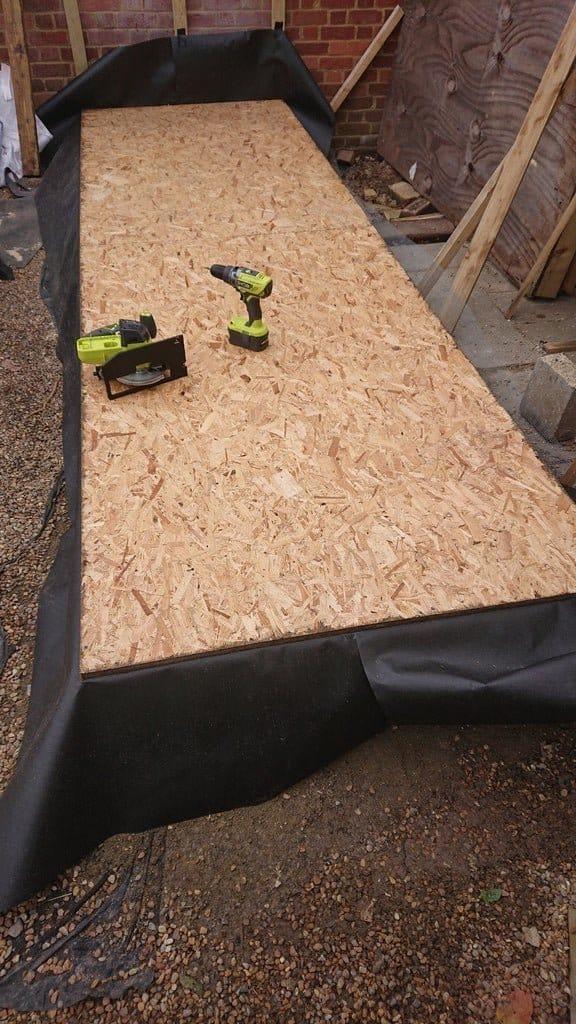 Деревянный сарай для дачи