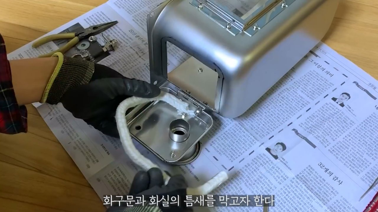 Tourist wood-burning stove (stove for a tent) without welding with your own hands