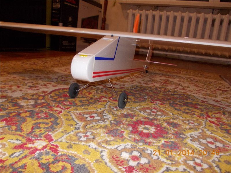 About model aircraft - trainer with a pushing propeller, say the word