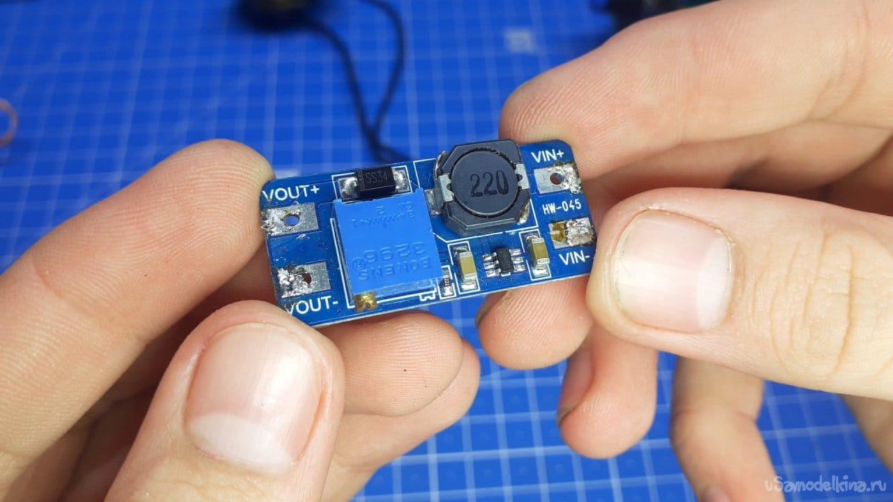 Powerful DIY PWM regulator on NE555