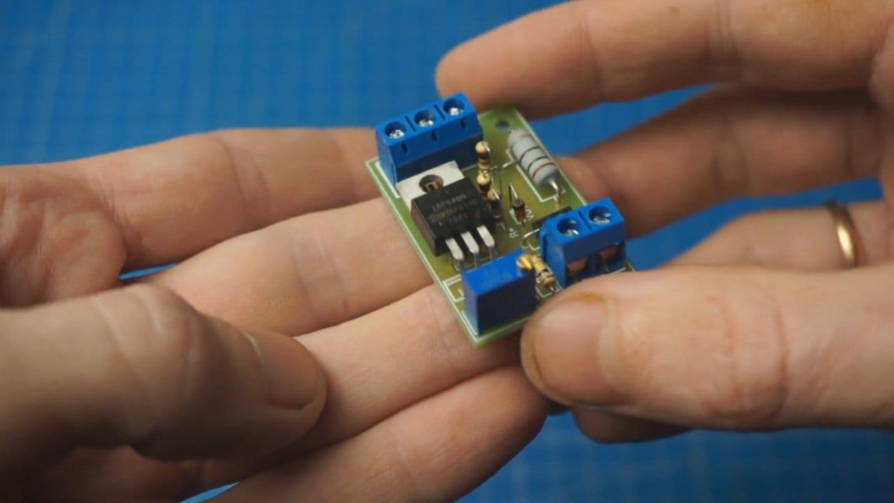 Простой контроллер ДХО своими руками