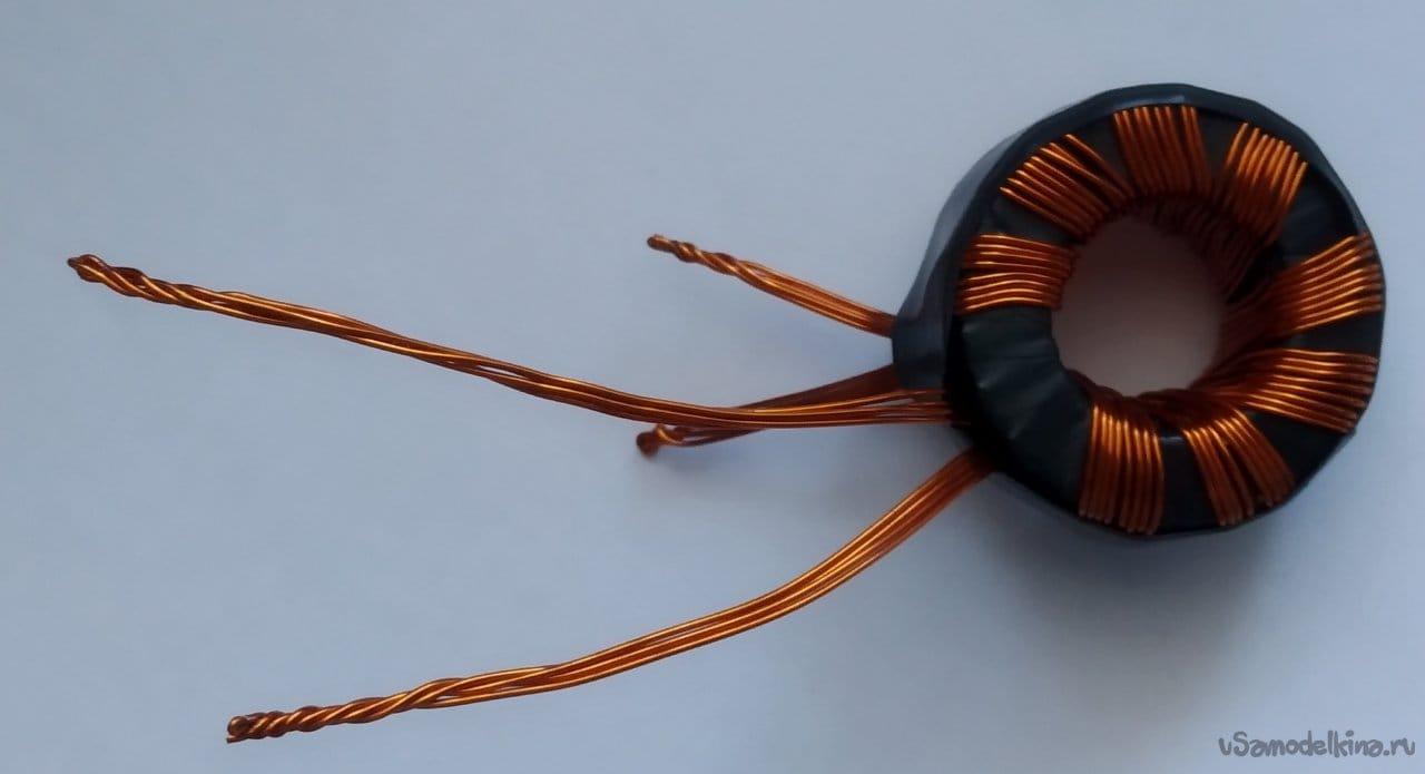 Mini spot welder with 12V supply voltage