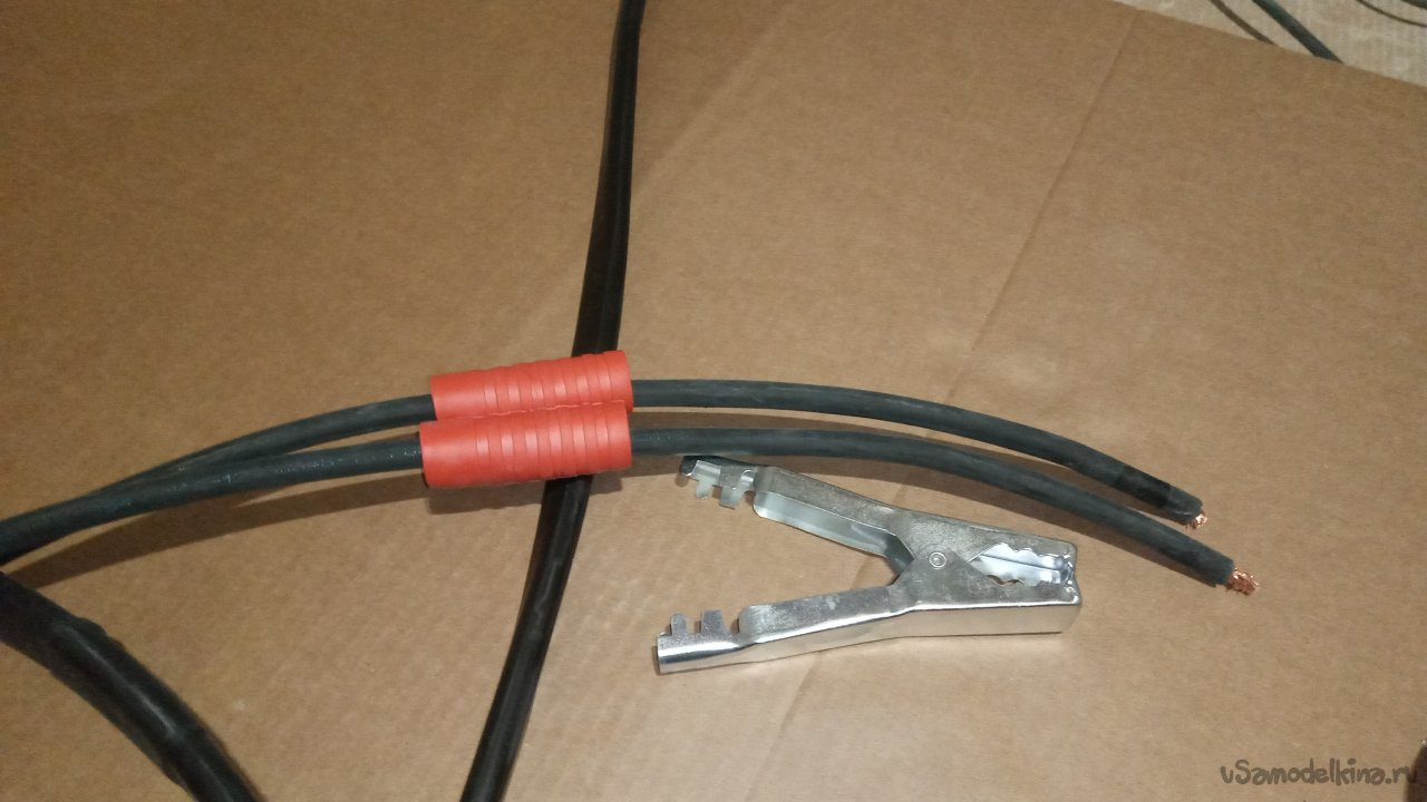 Powerful starting wires for a car with your own hands