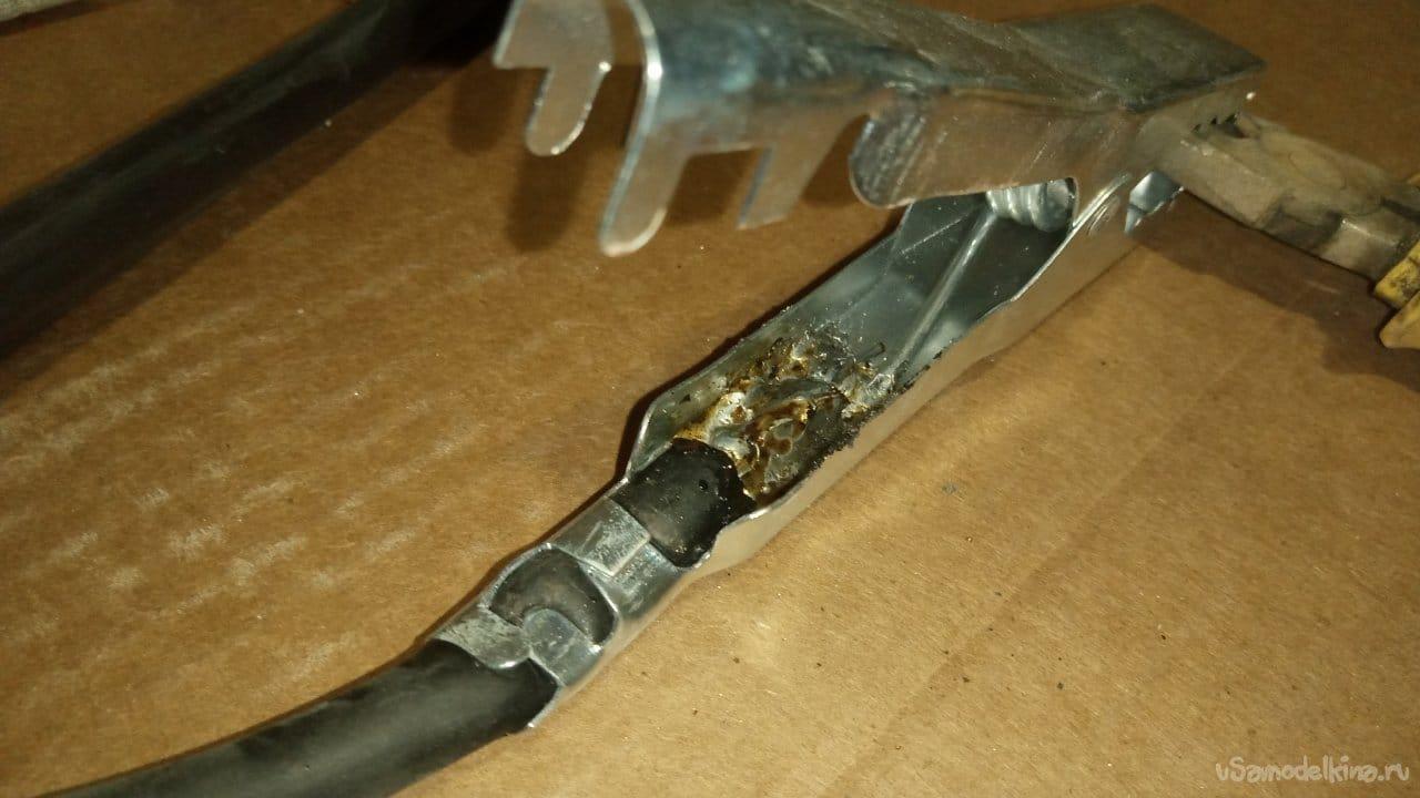 Мощные пусковые провода для автомобиля своими руками