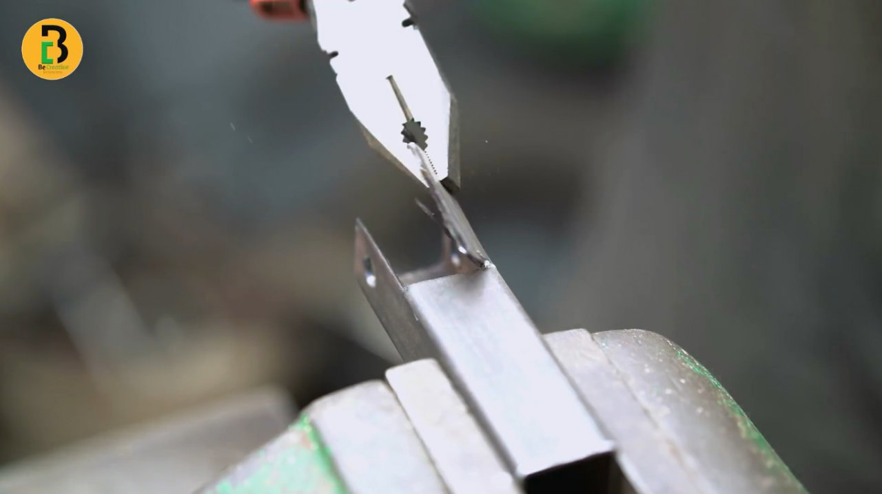 Magnetic clamp for DIY welding