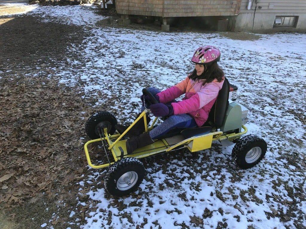 Electric karting