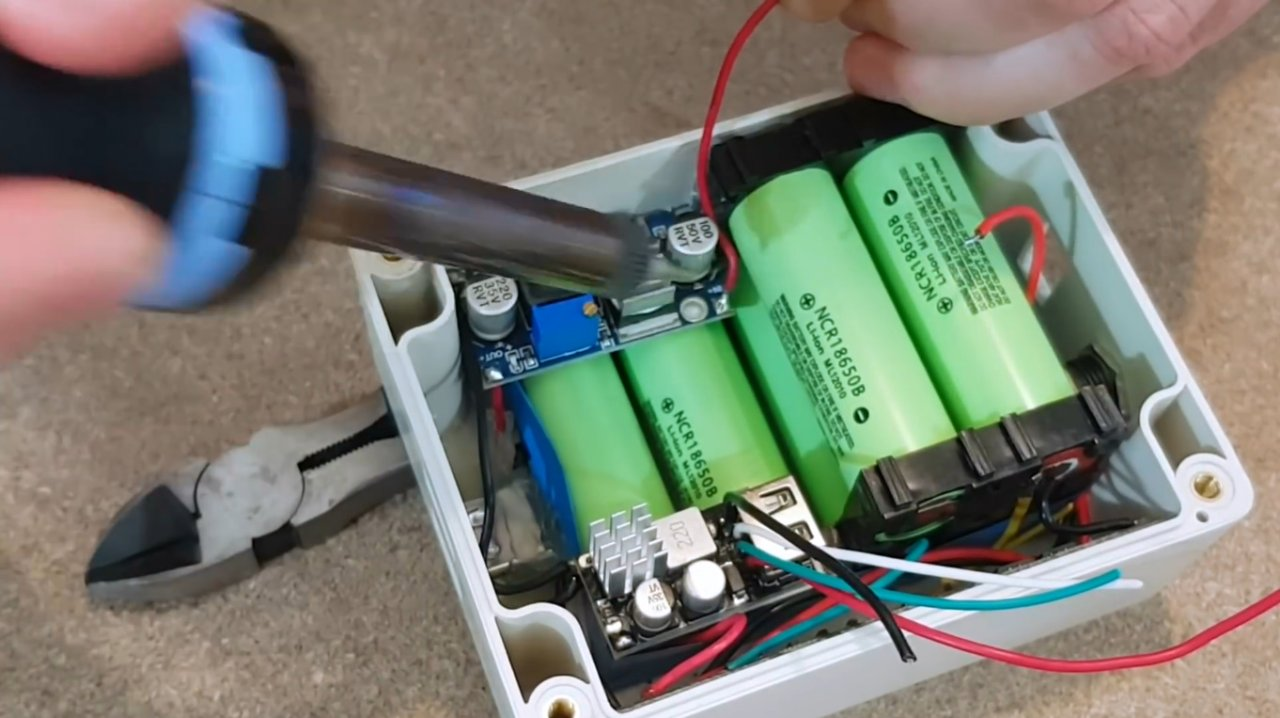 How to make a fast charging powerbank