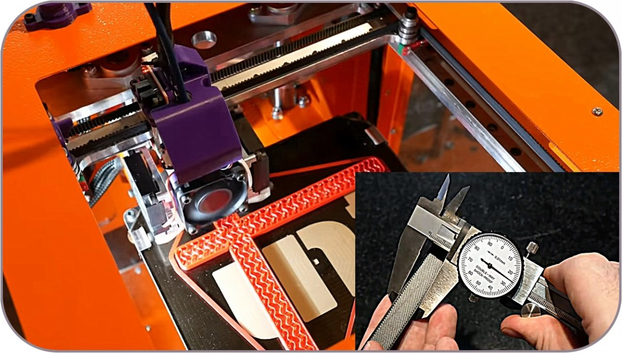 How to improve the accuracy of 3D printing. Calibrating a 3D printer