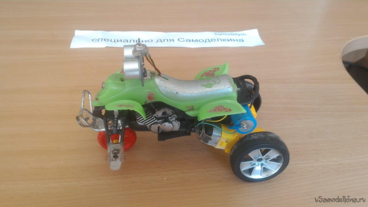 Робот-автопилот с управлением и программированием с ИК пульта