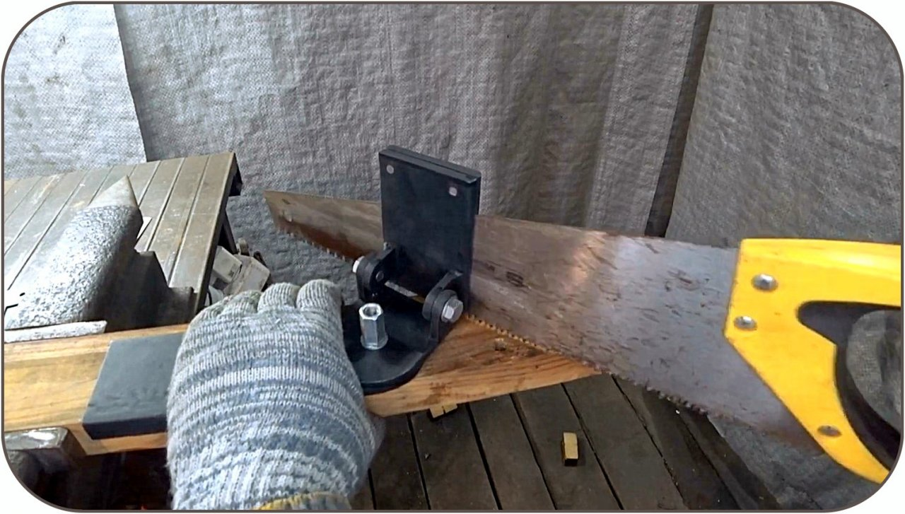 How to make a 3D miter saw & mdash;