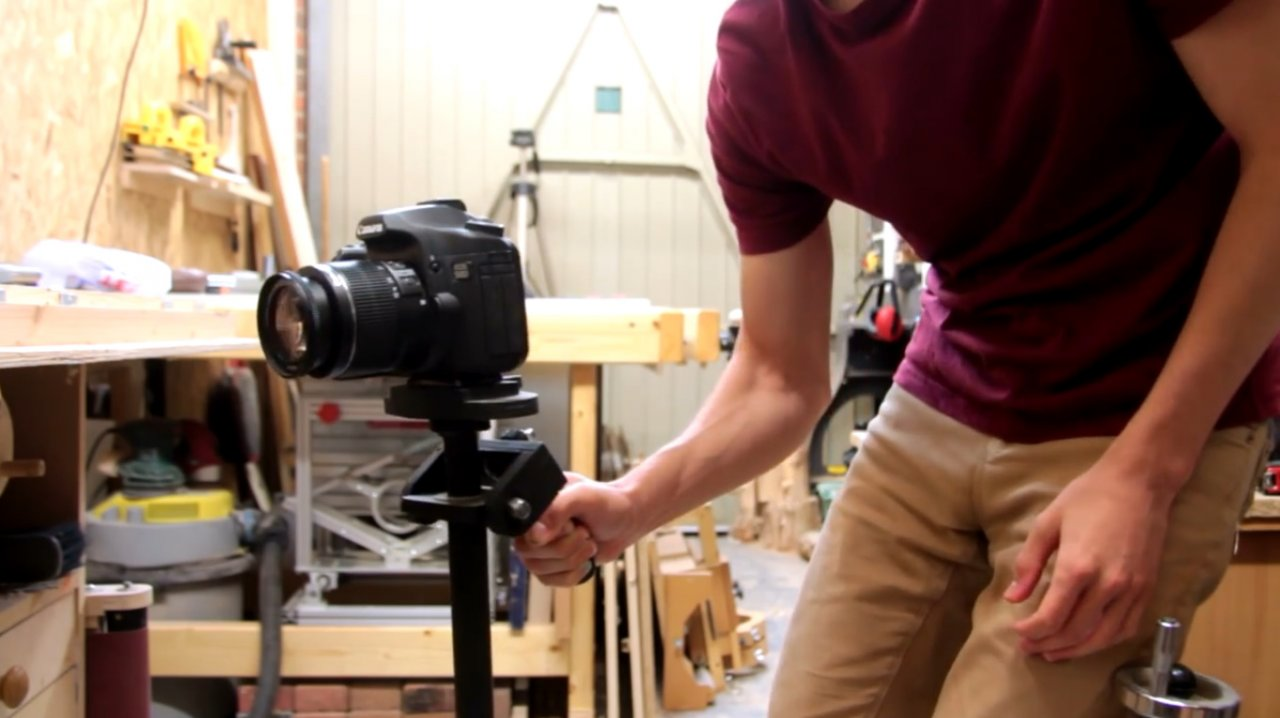How to make a stabilizer for a camera (steadycam)