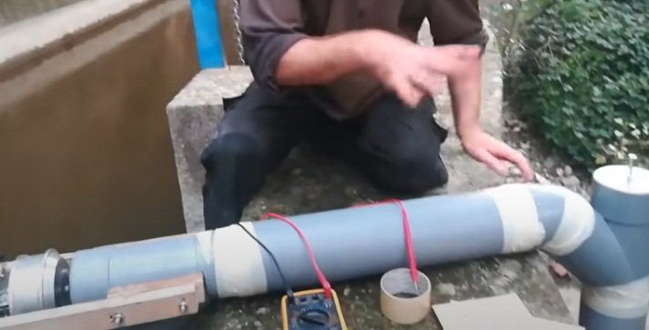 Electronic dependence - homemade mini hydroelectric power plants