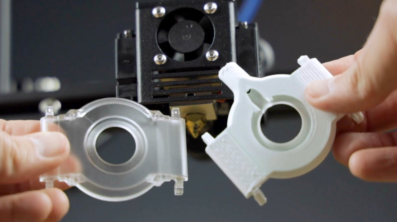 How to install a nozzle camera on a 3D printer. Close-up filming of the plastic laying process.
