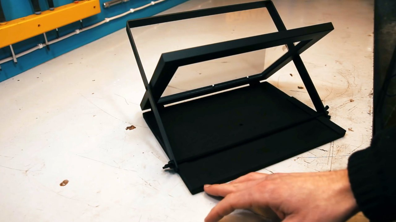 How to make a portable teleprompter