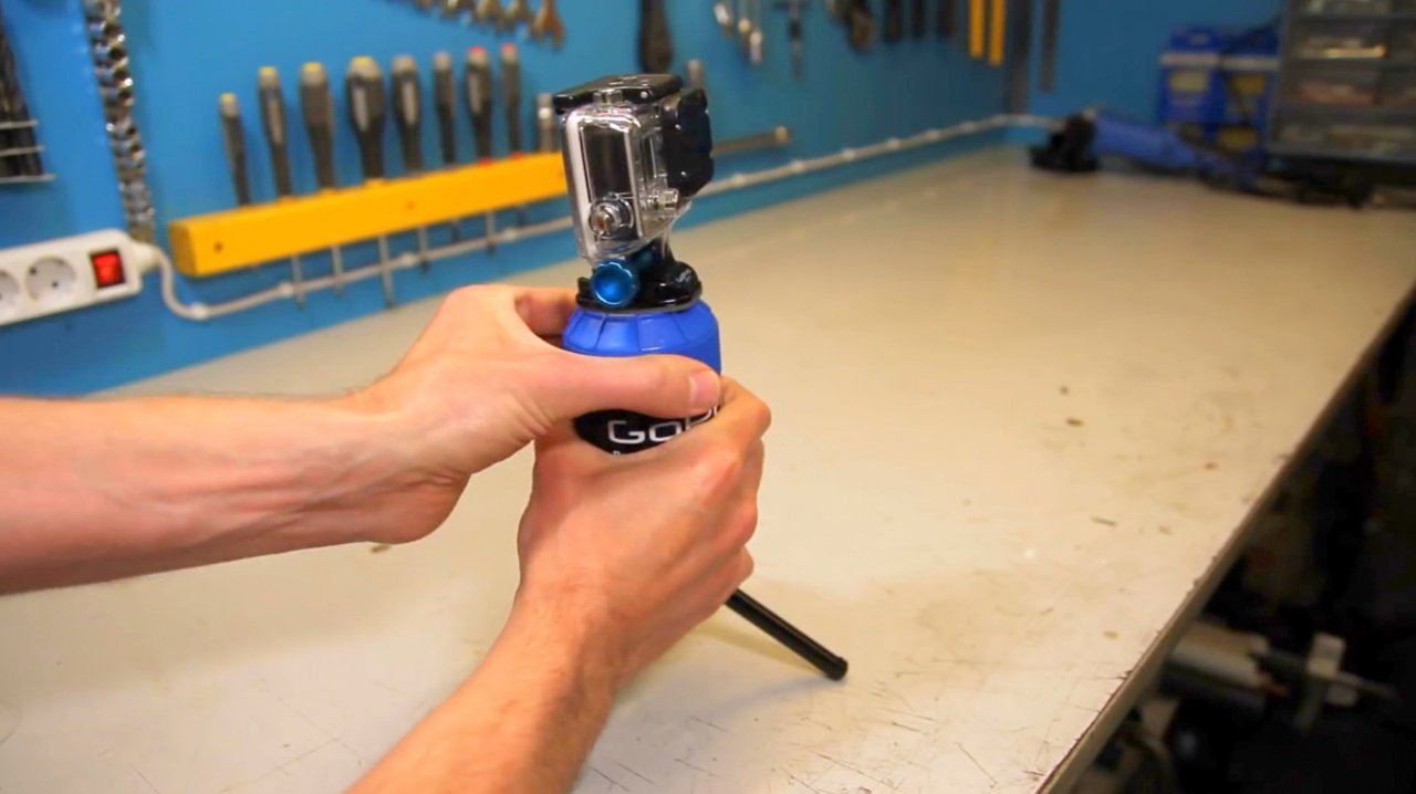 How to make a rotary device for panoramic time-lapse shooting