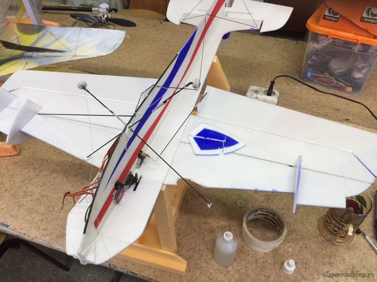 Repair of the F3P class radio-controlled aircraft