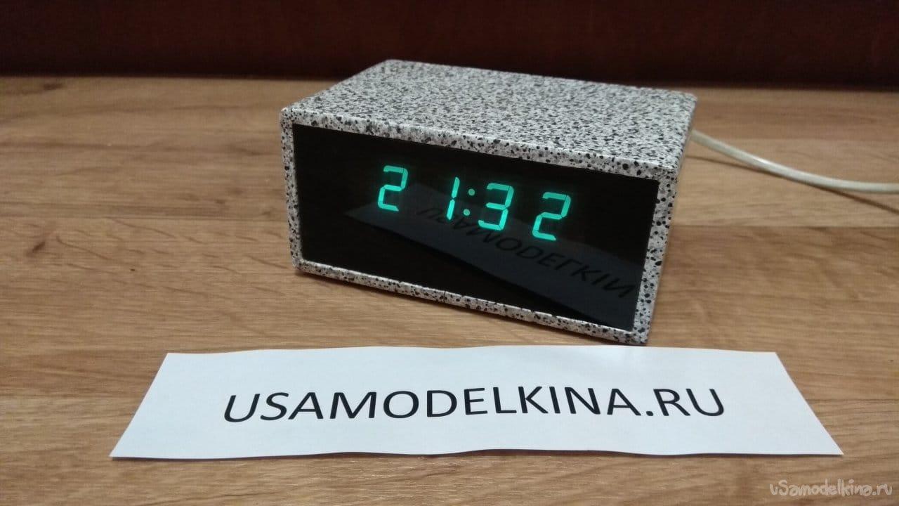 Homemade electronic clock