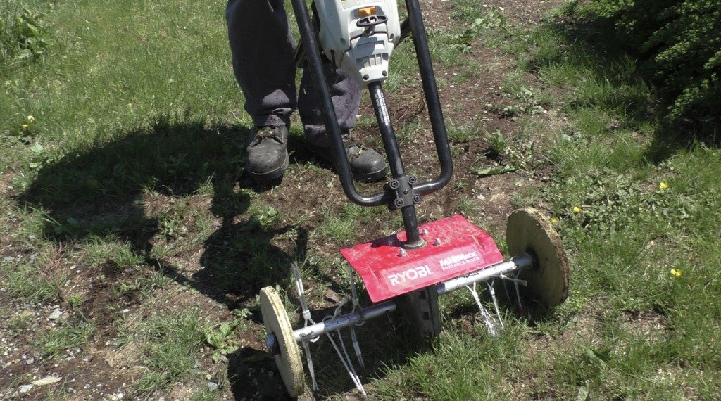 Homemade weeding machine for walk-behind tractor - simple and cheap