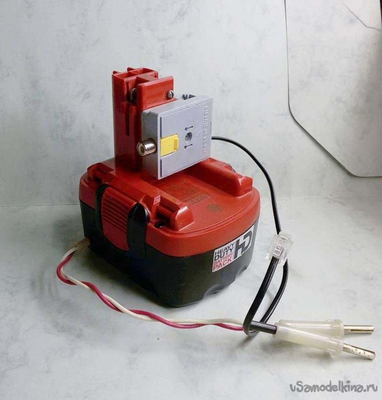 Battery power supply unit for the telephone network