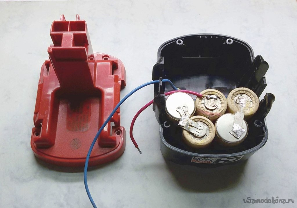 Battery power supply for the telephone network