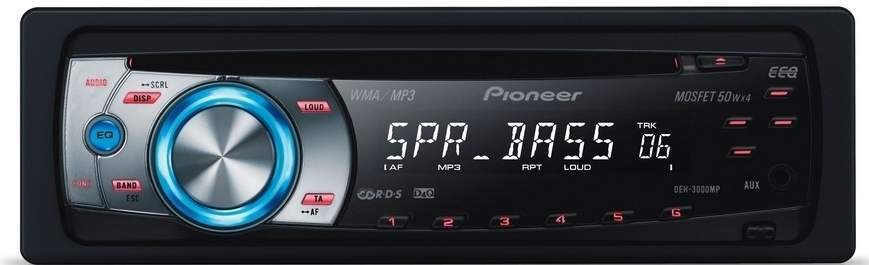 Refinement of the Sony DSX-A30E car radio