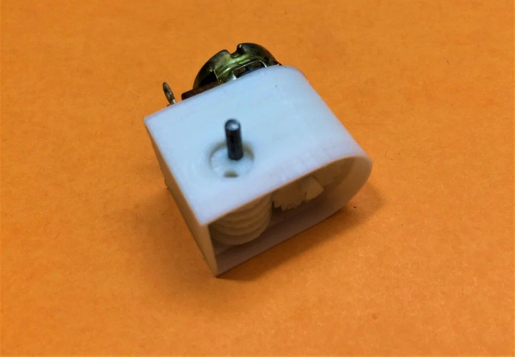 How to make a multi-turn potentiometer from a single turn