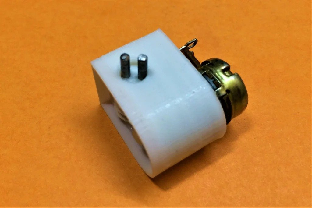 How to make a multi-turn potentiometer from a single-turn