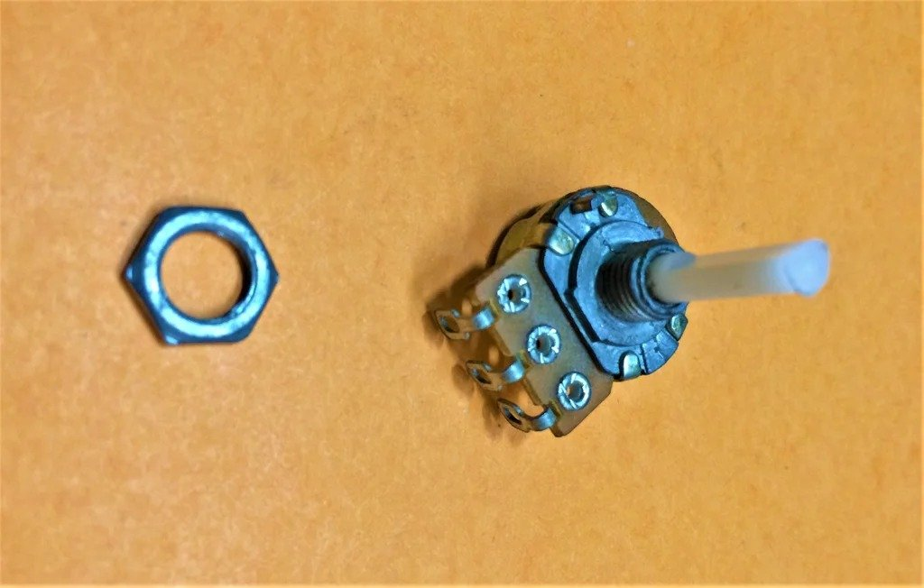 How to make a multi-turn potentiometer from a single-turn potentiometer
