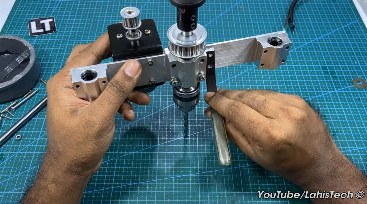 Mini drilling machine from 775 motor